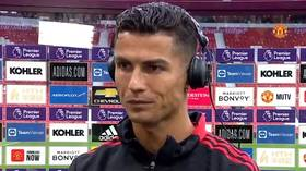 'Super nervous': Cristiano Ronaldo makes surprising admission after setting Old Trafford alight (VIDEO)