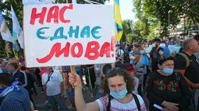 English language of the 'civilized,' Ukraine's chief censor claims, urges Kiev to scrap Cyrillic alphabet to distance from Russia
