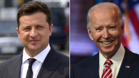 Ukrainian's Zelensky claims Biden gave support to Kiev's bid to join NATO but admitted that not all countries in US-led bloc agree