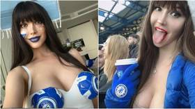 Chelsea-mad Russian Playboy pin-up wants 'sexy game' as Zenit take on Champions League holders in London