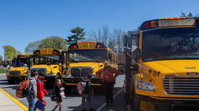 Massachusetts governor deploys 250 National Guard troops to drive SCHOOL BUSES amid driver shortage