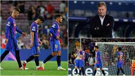 Fallen Empire: Barcelona's sorry plight laid bare in all its misery in Champions League loss – what now for crestfallen Catalans?