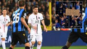 Rival fans beg Lionel Messi for mercy – and PSG oblige as all-star line-up falls flat on Argentine star's Champions League debut