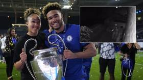 Chelsea star James shares footage of 'low-lives who robbed Champions League winner's medal' while he was in action (VIDEO)