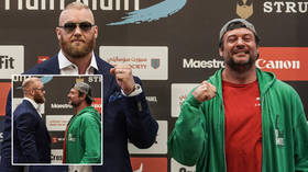 'If I break his nose, I want $5k': North America's top arm wrestler in war of words with Game of Thrones giant Thor ahead of fight