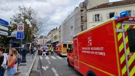 Several injured after car rams into restaurant terrace in Paris' Fontainebleau district