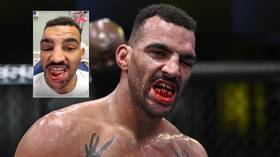 'I looked & I'm not happy': UFC fighter Cutelaba regretful after doing HORRIFIC damage to rival Clark's teeth (GRAPHIC)