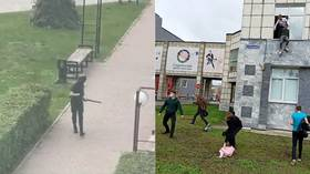 EIGHT KILLED after shooter opens fire at Russian university; shocking footage shows students jumping from windows in Perm (VIDEOS)