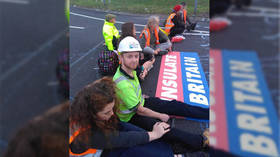 Climate protesters blockade London M25 motorway for 4th time in just 7 days