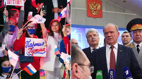 Russian elections: Pro-Putin party loses support but keeps 'supermajority,' Communists get big boost but allege count was rigged