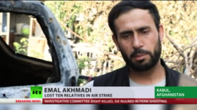 'We want justice under US law,' father of 2yo daughter killed in Kabul drone strike tells RT