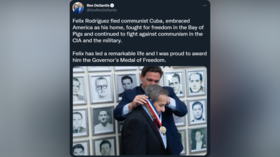 Florida Governor awards 'freedom medal' to CIA agent who helped execute Che Guevara