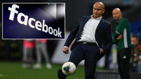 Russian ex-international football star SUES Facebook after company 'BLOCKS his surname because it insults Ukrainians'