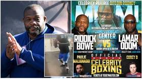 'Barbaric & dangerous': Ex-heavyweight champ Riddick Bowe, 54, pulled from fight after criticism of Holyfield horror show