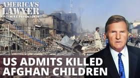 Pentagon apologizes for killing 7 Afghan children