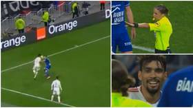'This is stupid': Fans stunned as Lyon star Paqueta receives yellow card after 'showboating' (VIDEO)