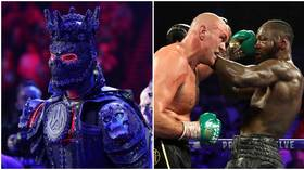 'For my tribe': Wilder promises 'special' ring-walk for Fury trilogy – despite blaming last defeat on outfit being TOO HEAVY