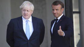 Johnson tells French president UK govt wants to 're-establish cooperation' after nuclear sub dispute, Macron's office says