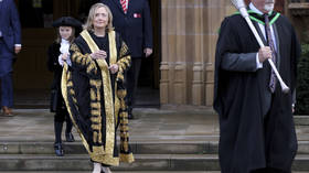 Defiant Clinton tells Twitter to call her 'Madam Chancellor,' as fans fantasize of her being POTUS & critics call her 'Palpatine'