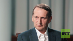 Dumb intelligence? Sergey Naryshkin, director of the Russian Foreign Intelligence Service