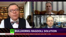 CrossTalk Bullhorns, HOME EDITION: Ragdoll solution