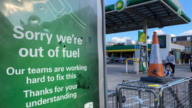 British MILITARY 'on standby' to deploy trucks & drivers amid fuel supply shortage blamed on 'panic buying'