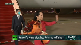 Meng returns to China & fuel panic buying in the UK