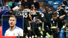 Sheriff-ic upset: Stunning last-minute goal gives Moldovan Champions League novices shock victory at 13-time winners Real Madrid