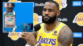 'I was very skeptical': NBA icon James backs Covid jabs, shuns parallels with speaking out on politics, racism & police brutality