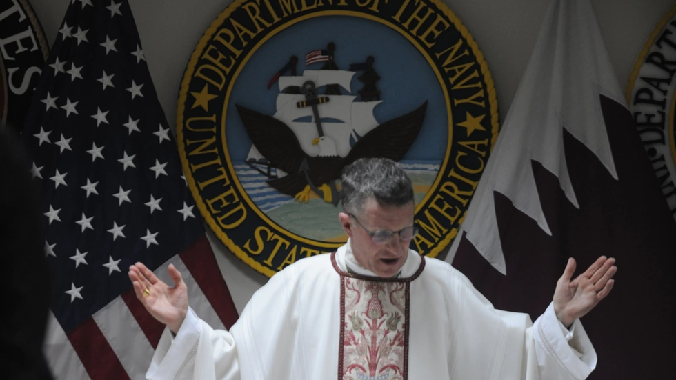 , Pentagon's archbishop says troops can't be forced to get Covid jab against their conscience as branches scrutinize exemptions, The World Live Breaking News Coverage & Updates IN ENGLISH