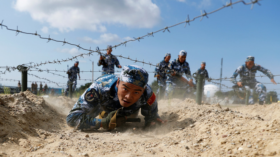 'Absolutely just': Beijing says its military drills near Taiwan are a response to its provocations & collusion with foreign powers