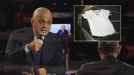 Sajid Javid spoke out after reports some players were refusing the jab. © Reuters