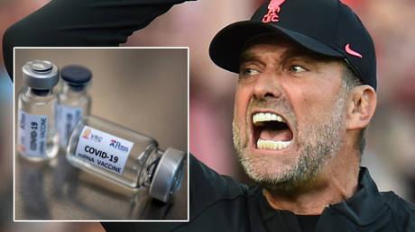 Liverpool boss Jurgen Klopp has spoken about Covid-19 vaccines © Athit Perawongmetha / Reuters   © Peter Powell / Reuters