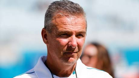 NFL coach Urban Meyer © Nathan Ray Seebeck / USA Today Sports via Reuters