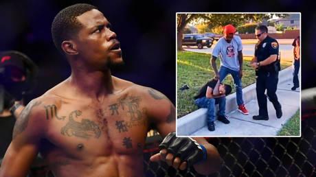 UFC fighter Kevin Holland has helped police © Jasen Vinlove / USA Today Sports via Reuters | © Twitter / jasoneg33