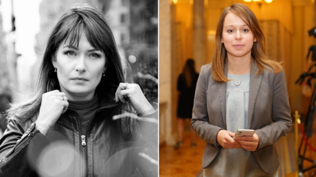 (L) Sandra Roelofs. © Social media; (R) Yelyzaveta Yasko. © Council of Europe