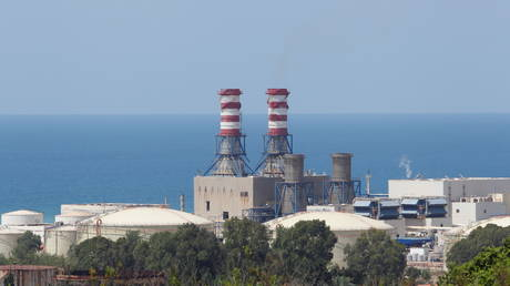 A view shows the Zahrani Power Plant, in Zahrani, Lebanon August 11, 2021. © Reuters / Aziz Taher