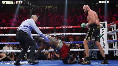 Fury retained his title in Las Vegas. © Reuters