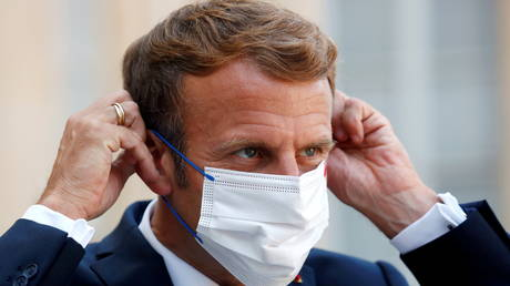French teenager arrested for making an attempt to enter hospital with President Emmanuel Macron's vaccine passport – media thumbnail