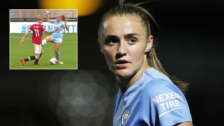 'No malice intended': Women's soccer star says she received 'all sorts of abuse' after horror red-card sort out on rival (VIDEO) thumbnail