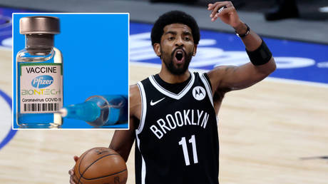 Kyrie Irving will not be playing for the Brooklyn Nets for the foreseeable future © Dado Ruvic / Reuters | © Kevin Jairaj / USA Today Sports via Reuters