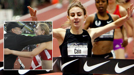 US running starlet files $20MN lawsuit against Nike & coach who 'warned her breasts & bottom were too big' & 'called her too fat'
