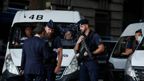 Suspect arrested after beheading of grandfather had been 'under psychiatric monitoring for many years,' says French prosecutor