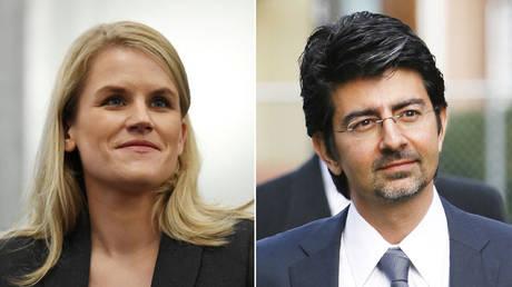 Billionaire Pierre Omidyar's secret backing of Facebook 'whistleblower' raises new questions about her agenda