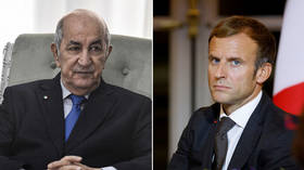 Algeria recalls envoy, accuses Paris of 'interference' after Macron slams post-colonial 'hatred of France' amid migrant visa row