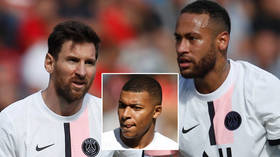 PSG woe: Lionel Messi is still yet to score in the French league after Paris Saint-Germain slump to shock first loss of the season