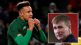 'There are a lot of myths': Ireland boss suggests 'virility' fears over vaccines... as footballer who caught Covid twice shuns jab