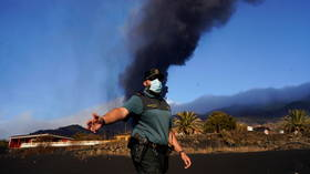 Volcanic ash forces shutdown of airport at Spain's La Palma island