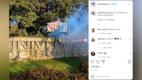 LGBTQ activists demand firing of 'transphobic' academic at Sussex University, blast 'colonial s**t-hole' UK & snub LGB Alliance