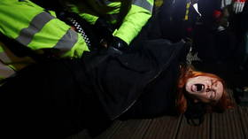 Now it's clear that women have to take the same s**t from Britain's corrupt police as black men, maybe we'll see some change